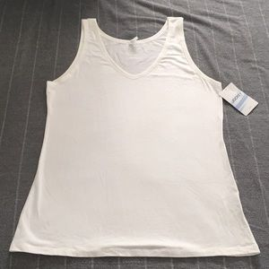 Jockey vneck tank top